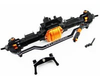 Hot Racing Front Aluminum Axle Assembly with Gear SCX10 HRASCX12XF03