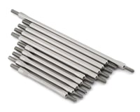 Vanquish Stainless Steel 10PC Link Kit for Incision Capra VPSIRC00184 (Axial 1.9)