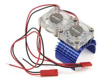 Integy Blue Super Motor Heatsink / Twin Fan 540/550 INTC23139BL