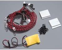 Integy G.T. Power Complete 8 LED Kit w/ Control Box Module for Airplanes & Helicopter INTC24331