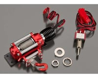 Integy Billet Machined Realistic Power Winch for Scale Rock Crawler 1/10 Size INTC24659RED