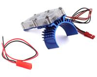 Integy Blue Motor Heatsink/Twin Fan for Slash 4X4 INTT8534BL