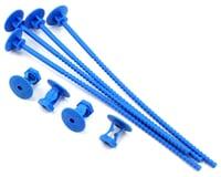 JConcepts 1/10 Off-Road Tire Stick Blue (4) JCO24301