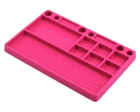 JConcepts Pink Rubber Material Parts Tray JCO2550-4