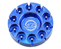 JConcepts Aluminum Pinion Puck Modified Range (Blue)