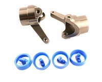 Kyosho Inferno MP7.5 CNC Aluminum Steering Knuckles (2)