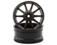 Losi 54x26mm Gun Metal Wheel FR Volk Racing CE28N (2) LOS43035