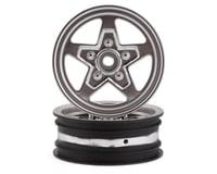 Losi Satin Chrome Front Wheel (2) for 22S Drag LOS43047