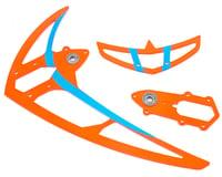 Mikado Logo 600SX Tail Rotor Fin Set (Neon Red)