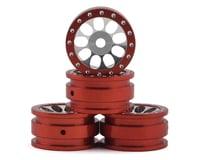 Orlandoo Hunter OH35A01 Aluminum Porous 9 Hole Wheel (Red) (4)