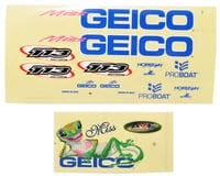 Pro Boat Miss GEICO 17 Decals PRB0304