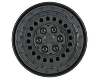 "Pro Line Black Military Steel 1.9"" Dually Wheels PRO278600 (Axial SCX10 II)"