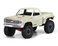 """Pro-Line 12.3"""" WB Crawlers 1978 Chevy K-10 Clear Body PRO352200"""