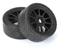 Pro-Line Avenger HP Belted Pre-Mounted 1/8 Buggy Tires (2) (Black)