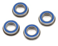 """ProTek RC 8x14x4mm Rubber Sealed Flanged """"Speed"""" Bearing (4) (Losi 8IGHT 4.0)"""