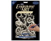 Royal Brush Manufacturing Glow/Dark Engraving Art Octopus