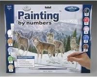 Royal Brush Manufacturing PBN Wolves 15x11-1/4