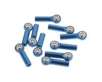 RC4WD M3 Long Straight Aluminum Rod Ends (Blue) (1