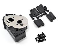 RPM Hybrid Gearbox Housing/Rear Mounts Black RPM73612 (Traxxas Stampede)