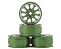 """Samix Axial SCX24 Aluminum 1.0"""" Wheel Set (Green) (4)"""