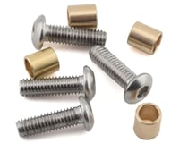 Samix SCX10 III/Capra Brass Knuckle Bushing Set (4)