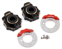 Samix Traxxas TRX-4 Brass Portal Cover & Scale Brake Rotor Set