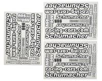 Schumacher Mi4CXL Decal Sheet Set (3)