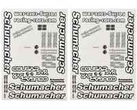 Schumacher Cougar SVR Decal Sheet (2)