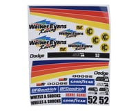 SOR Graphics Official Walker Evans Racing Decal Kit (Universal)