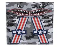 SOR Graphics Warfighter Decal Kit (Red, White & Blue Matte) (Medium)