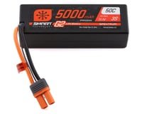 Spektrum 11.1V 5000mAh 3S 50C Smart LiPo G2 Hard Case for IC5 SPMX53S50H5 (Axial RBX10 Ryft)