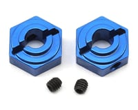 ST Racing Concepts Arrma Vorteks Aluminum Rear Hex Adapters (2) (Blue)