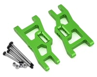 ST Racing Green Heavy Duty Front Suspension Arms Kit with Lock Nut Hinge Pins STRST3631XG (Traxxas Rustler)
