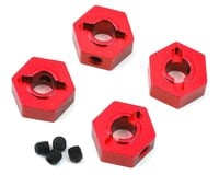 ST Racing Aluminum Hex Adapters Traxxas 4-Tec 2.0 Red (4) STRST8356R