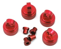 ST Racing Aluminum Shock Caps & Bushings 4TEC 2.0 Red STRST8361R (Traxxas 4-Tec 2.0)
