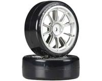 Tamiya 1/10 SD Drift Tech Tires/10-Spoke Whls 24mm