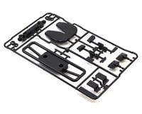 Tamiya TT-01 Grill & Mirror Set (Black) (H Parts)