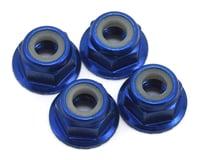 Traxxas Hoss Nuts 4mm Flanged Nylon Locking (4) TRA1747R
