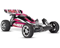 Traxxas Bandit 1/10 Electric Buggy RTR with ID Technology (PinkX)
