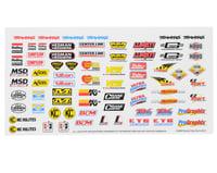 Traxxas 1/16 Slash Racing Sponsors Decal Sheet TRA2514