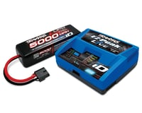 Traxxas 4S 5000mAh 14.8V iD LiPo Battery/Charger Completer Pack TRA2996X