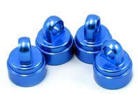 Traxxas Stampede Blue Aluminum Shock Caps Rustler, Slash TRA3767A