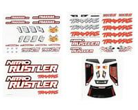 Traxxas Decal Sheets Nitro Rustler TRA4413X