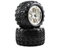 Traxxas Tires/Wheels Assembled SS Chrome Revo/Maxx TRA5174