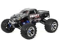 Traxxas Revo 3.3 1/10 4WD Nitro Monster Truck RTR with w/ TSM (Silver)