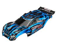 Traxxas Rustler 4X4 Assembled Blue Body with Decal Sheet TRA6718X