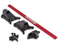 Traxxas Rustler 4x4 Rustler/Slash LCG Chassis Brace Kit (Red)
