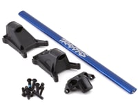 Traxxas Rustler/Slash 4x4 LCG Chassis Brace Kit (Blue)