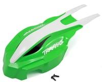 Traxxas Front Green and White Aton CanopyTRA7914