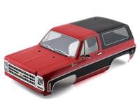 Traxxas Complete Red 1979 Chevrolet Blazer Body TRA8130R